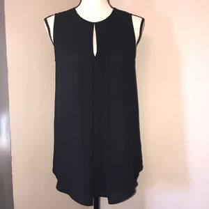 🦋 H&M short sleeve black top.